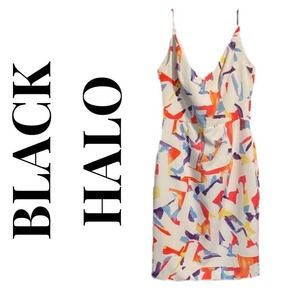 BLACK HALO CONFETTI DRESS / DF